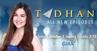 Tadhana May 8, 2021 Replay Today Episode